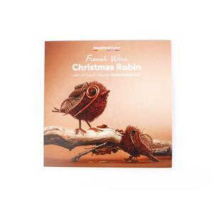 French Wire Christmas Robin with Claire DVD (PAL)