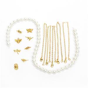 Natural History Gold Pltd Charm Bracelet