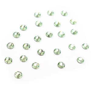 Swarovski XIRIUS Flat Back 2078 (Hot Fix) 4mm SS16 Chrysolite AHF 48pk