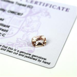 2.15cts Galileia Topaz 9x7mm Cushion (C)