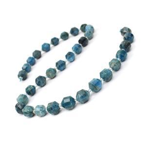 200cts Apatite Fancy Faceted Beads Approx 10x9mm, 38cm