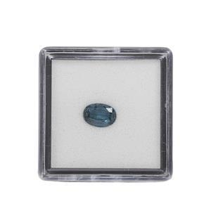 0.70cts Teal Kyanite Fancy Oval Approx 7x5mm Loose Gemstone (1pc)