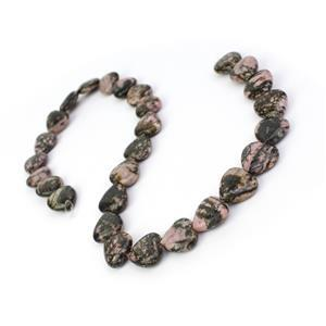 320cts Rhodonite Fancy Heart Approx 14mm, 38cm