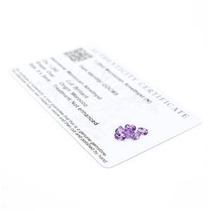 Moroccan Amethyst Gemstone Pieces  1.53cts