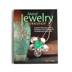 Metal Jewellery Workshop Book By Helen I. Driggs