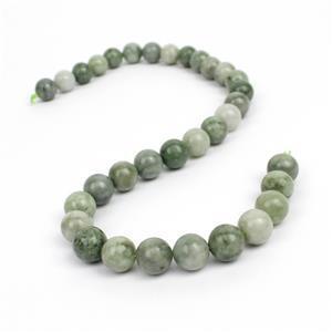 440cts Multicolour Burmese Jadeite Plain Rounds Approx 12mm, 38cm strand
