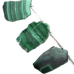 Malachite Gemstone Strands