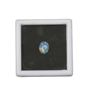 1.75cts Ethiopian Opal Cabochon Oval Approx 11x9mm Loose Gemstone (1pc)