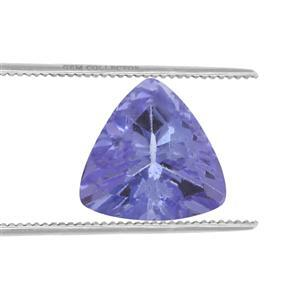 0.6cts Tanzanite 6x6mm Triangle  (H)