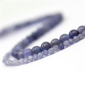 2 x strands of Tanzanite