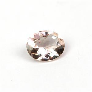 2.75cts Rose Danburite 11x9mm Oval  (I)