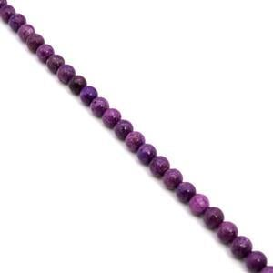 380cts Lepidolite Plain Rounds Approx 12mm, 38cm Strand