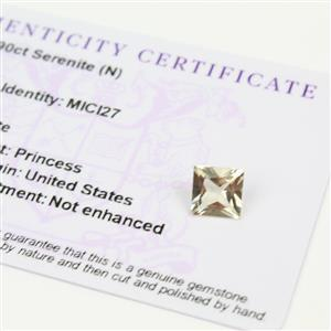 1.9cts Serenite Square Princess 8.00x8.00mm