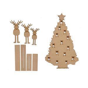 Christmas Tree and Rudolf Display Stands with 2 part base