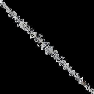 Herkimar Diamond Quartz Gemstone Strand