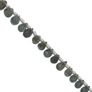 Green Sapphire Gemstone Strands