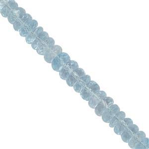 Sky Blue Topaz Gemstone Strands