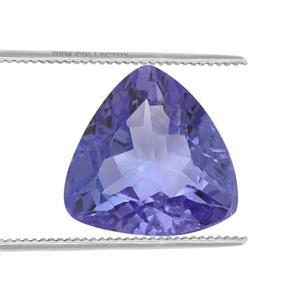 0.85cts Tanzanite 7x7mm Triangle (H)
