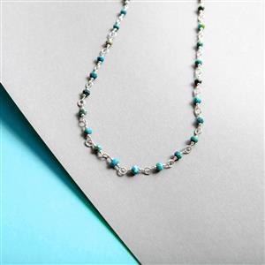Sleeping Beauty Turquoise Gemstone Strand