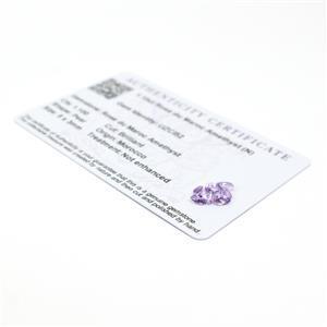 Amethyst Gemstone Pieces  1.42cts