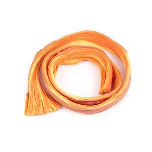 1/2 Yard Indian Paint Brush Shibori Silk Ribbon
