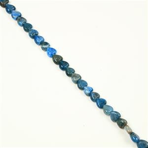 210cts Neon Apatite Hearts Approx 10mm, 38cm