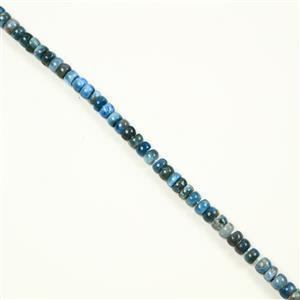 255cts Neon Apatite Rondelles Approx 5x8mm, 38cm