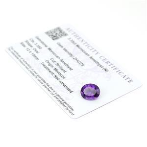 Moroccan Amethyst Gemstone Pieces  4.14cts