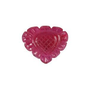 26.30ct Mozambique Ruby Carved Fancy (F)