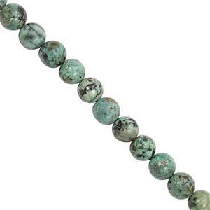 185cts Turquoise Smooth Round Approx 10 to 10.50mm, 28cm Strand