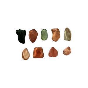 Multi-Colour Tourmaline Organic Pebbles