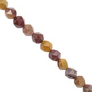 102cts Mookite Faceted Star Cut Approx 7.25 to 7.75mm, 28cm Strand