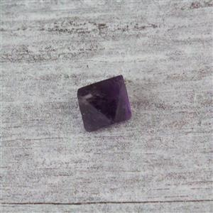 15cts Purple Fluorite Octahedron, top drilled, 1.7-2.5cm (1pc/pack)