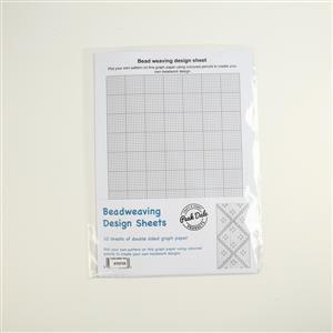 Peak Dale Bead Weaving Design Sheet A4 (10pk)