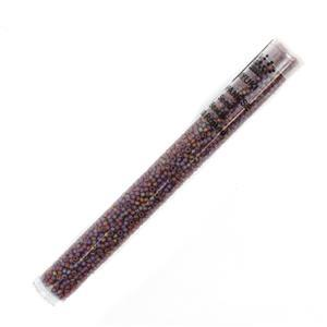 Miyuki Matte Transparent Light Brown AB Seed Beads 11/0 (24GM/TB)