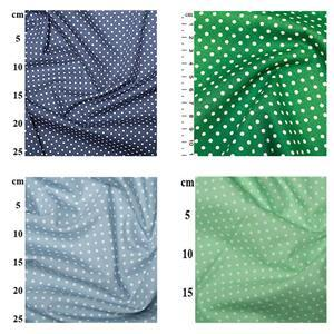 Blue to Green Poplin Spots Bundle (2m)