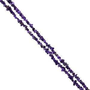 "912cts Amethyst Chips Approx 4x7 to 5x8mm, 100"" Endless Chips Strands"