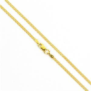 Chain  in Gold Plated Sterling Silver