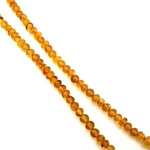 Baltic Amber Nugget Beads Approx 4x5 - 5x6mm, 38cm Strand
