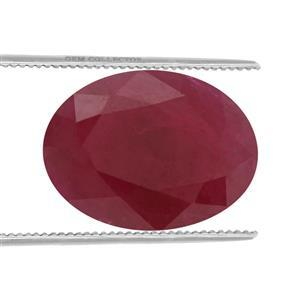 1.3cts Burmese Ruby 8x6mm Oval  (H)