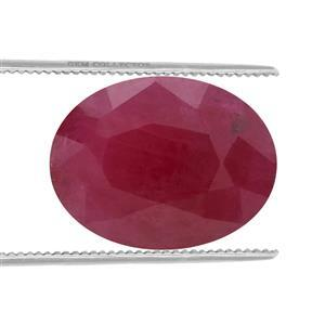 1.9cts Burmese Ruby 9x7mm Oval  (H)