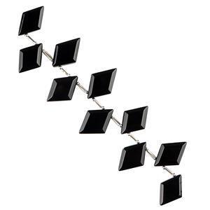 Black Onyx Gemstone Strands