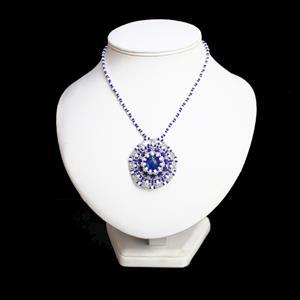 Royal Blue Terra Jasper and Miyuki Seed Beads Jewellery Kit