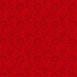 Colourflow Red Fabric 0.5m