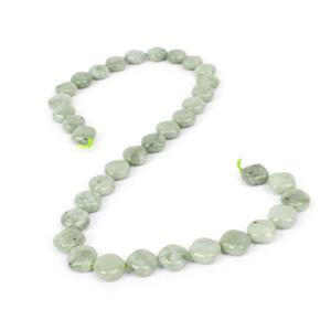 180cts Burmese Jade Diamond Approx 10mm, 38cm