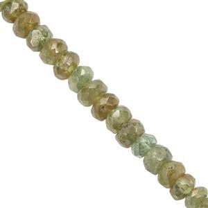 Demantoid Garnet Gemstone Strand