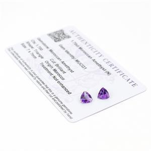 Moroccan Amethyst Gemstone Pieces  2.08cts