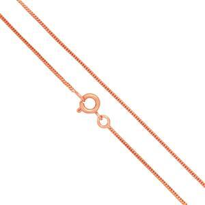 "Copper Plated Brass Finished Snake Chain, 18"" (5pk)"