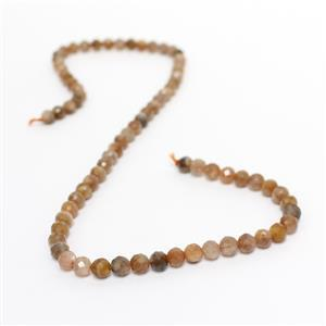 80cts Multi-Colour Sunstone Faceted Rounds Approx 6mm, 38cm Strand