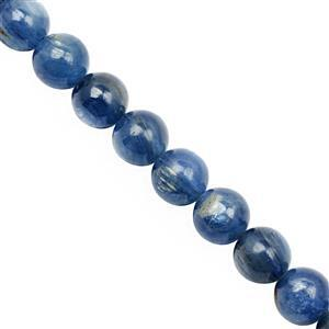 68cts Nilamani Smooth Round Approx 6mm, 19cm Strand